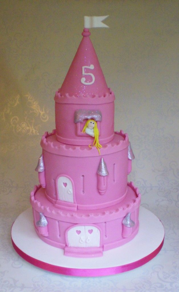 inspired princess castle is every little girls dream birthday cake