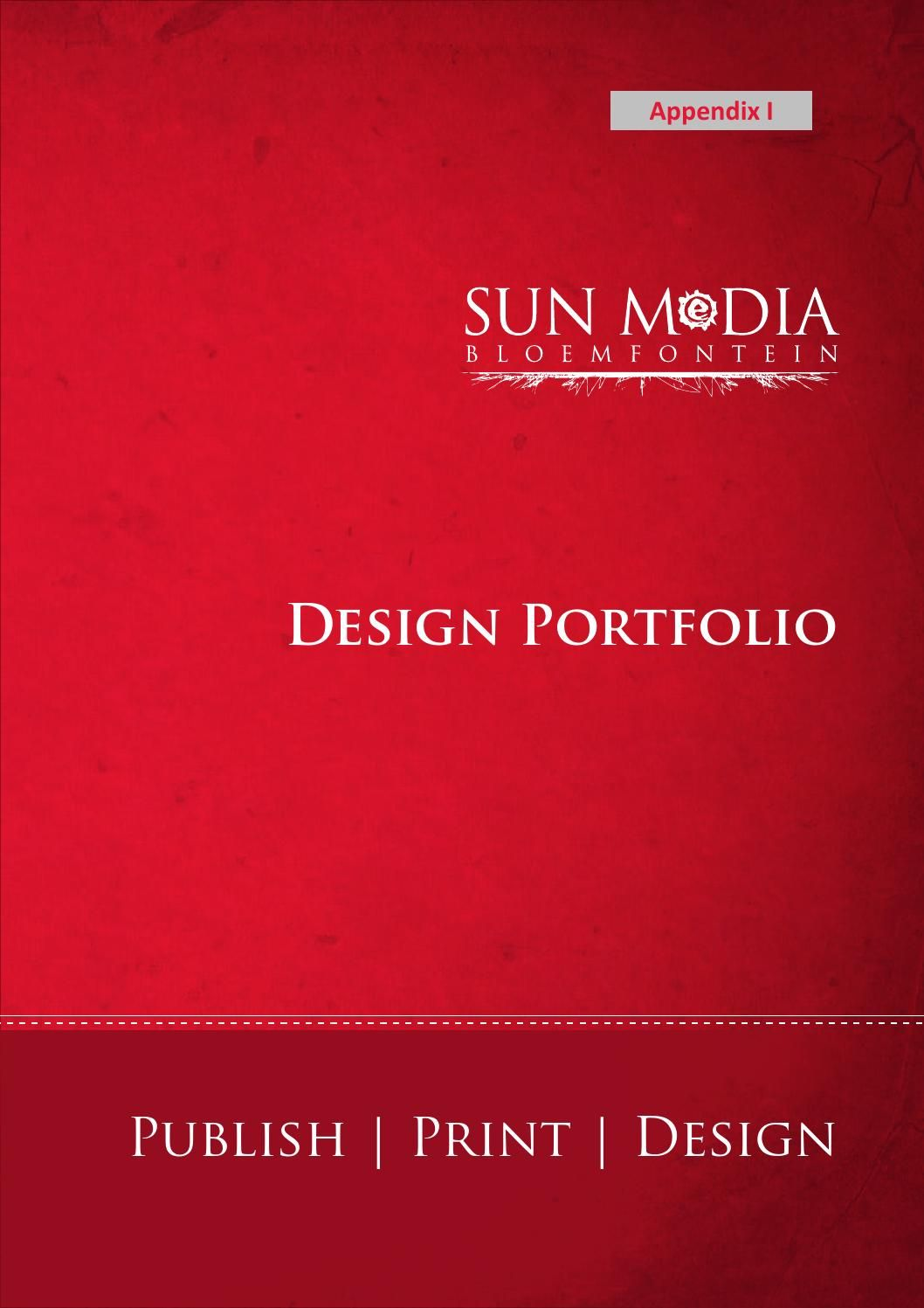 SUN MeDIA Bloemfontein Design Portfolio