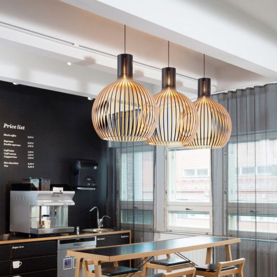 secto design octo 4240 hanglamp zwart design