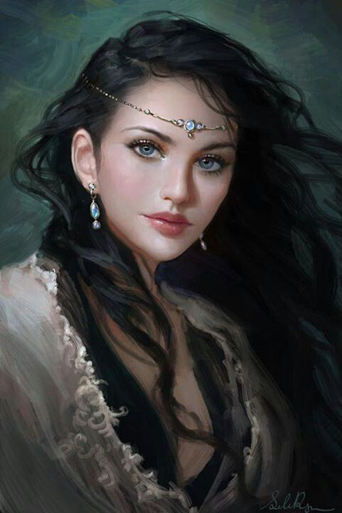 Brunette Medieval Natural Witchy Woman Pinterest In