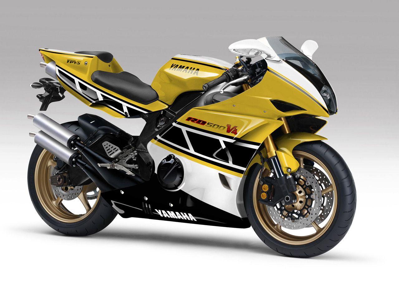Moto yamaha scrambler cars motorcycles bobber forward mt09 yamaha - Yamaha Rd 500 Ypvs Concept In Kenny Roberts Colors So Sweet