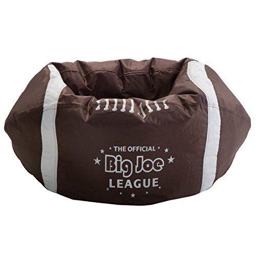 Comfort Research Big Joe Football Bean Bag Chair Be A Winner With The