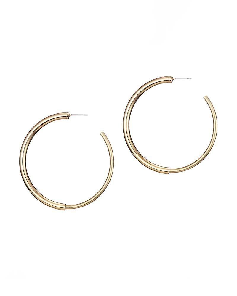 Jenny bird lola small hoop gold earrings earrings pinterest