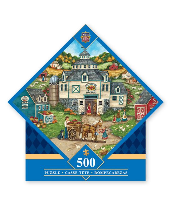 Bartlett's Apple Orchard 500-Piece Puzzle