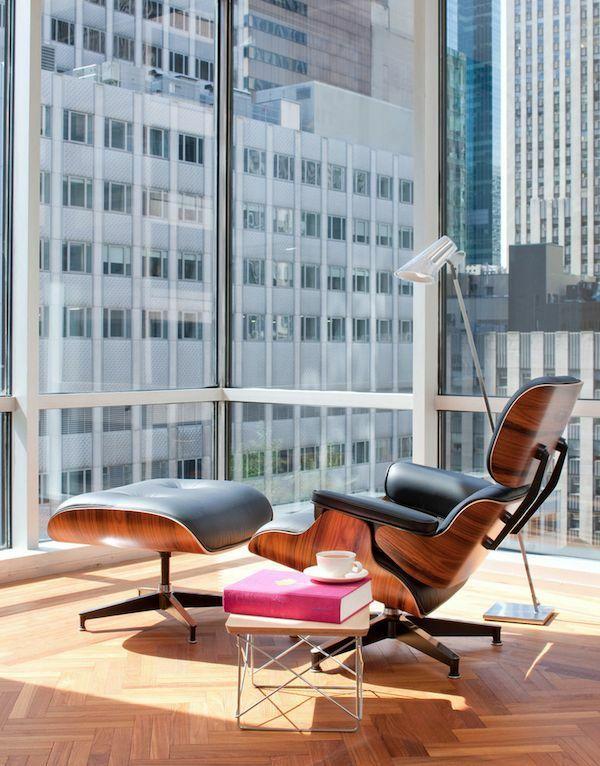 Der Charles Eames Lounge Chair denkt an Ihren Komfort -   - esszimmer ideen modern