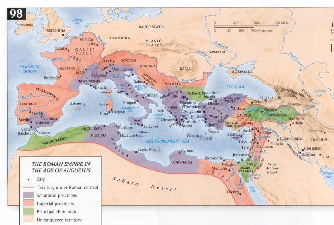roman empire augustus map Mapsontheweb Roman Empire Travel Maps Bible Mapping roman empire augustus map