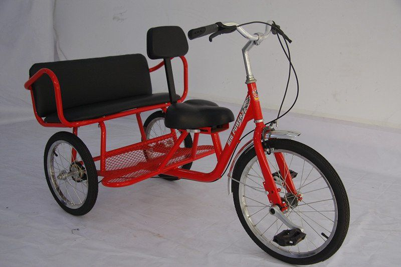 88a45845c6f manual assembly children tricycle with back seat QU01AB | Sweet Cruiser