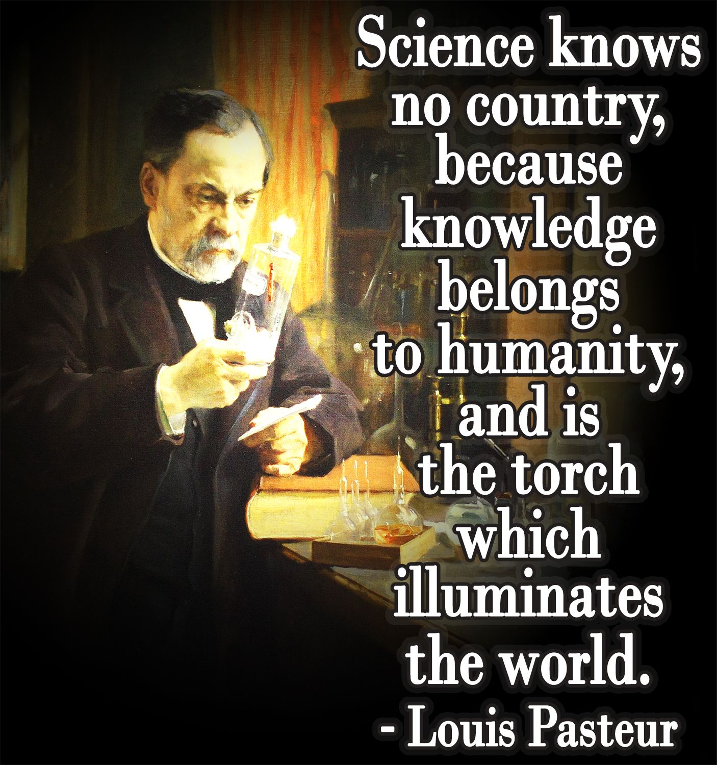 Scientist Quotes Spread Knowledge Illuminate The World Science Quote Quotes
