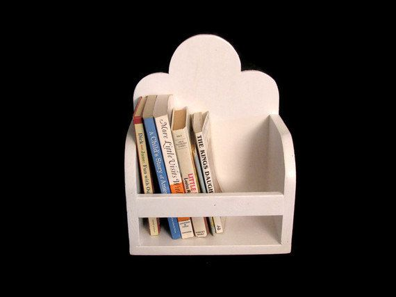 Book Holding Cloud Shelf From Happywood Goods.