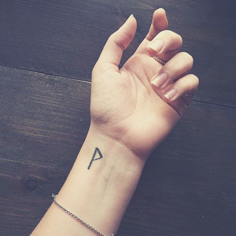 Small Viking Tattoo with Big Meanings Wrist tattoos