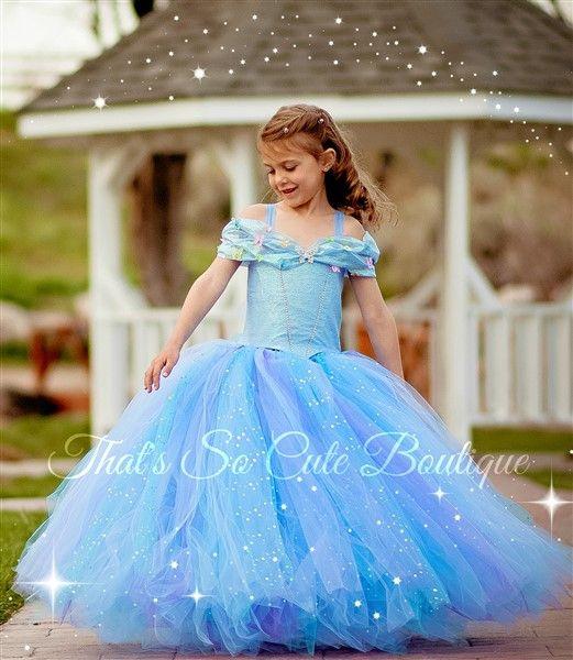 www.thatssocuteboutique.com-Cinderella Tutu Dress 2015 ... - photo #9