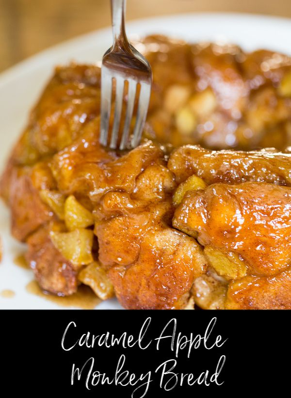 Caramel Apple Monkey Bread
