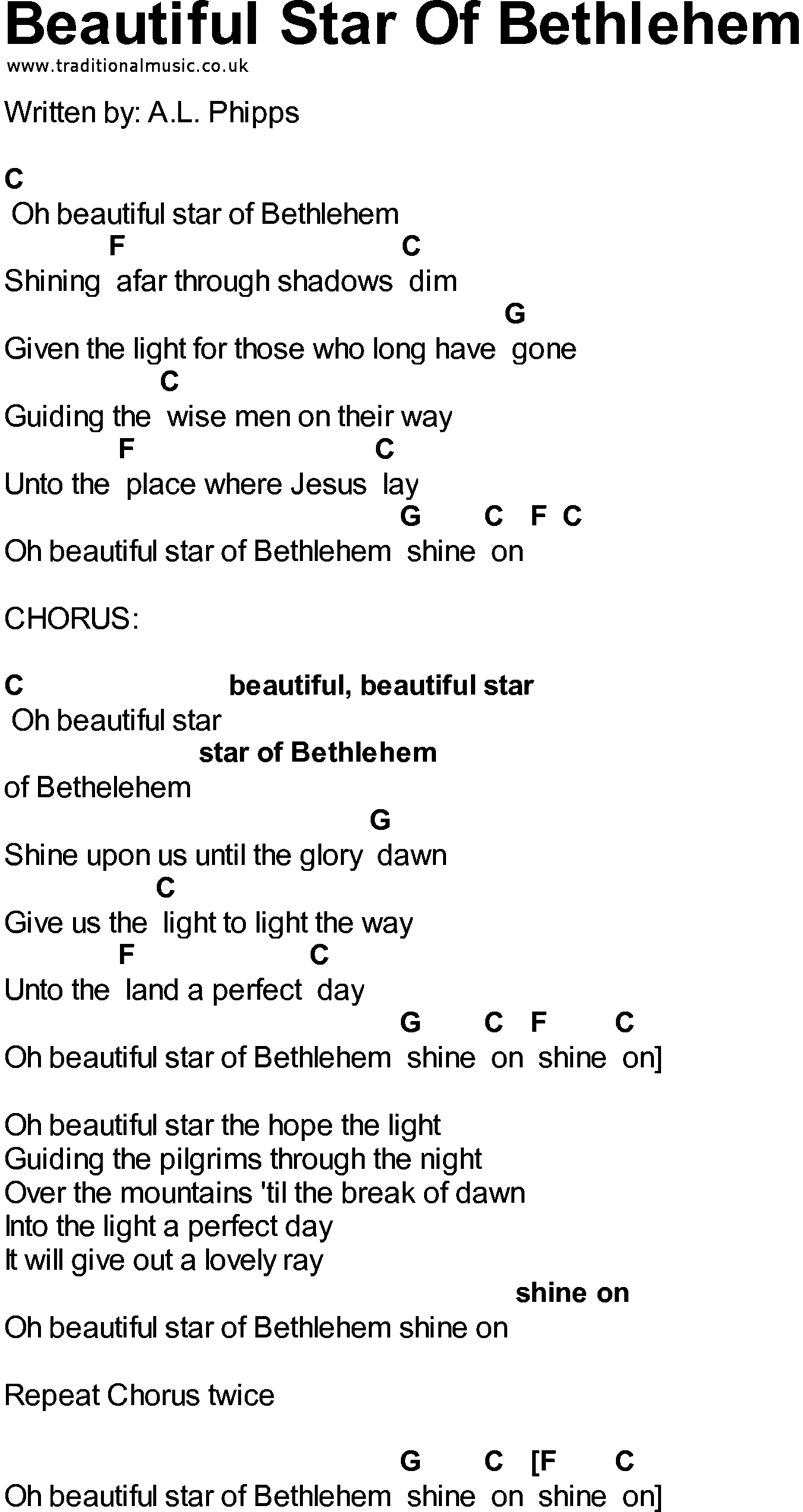 Country southern and bluegrass gospel song because he lives oak bluegrass songs with chords beautiful star of bethlehem hexwebz Gallery