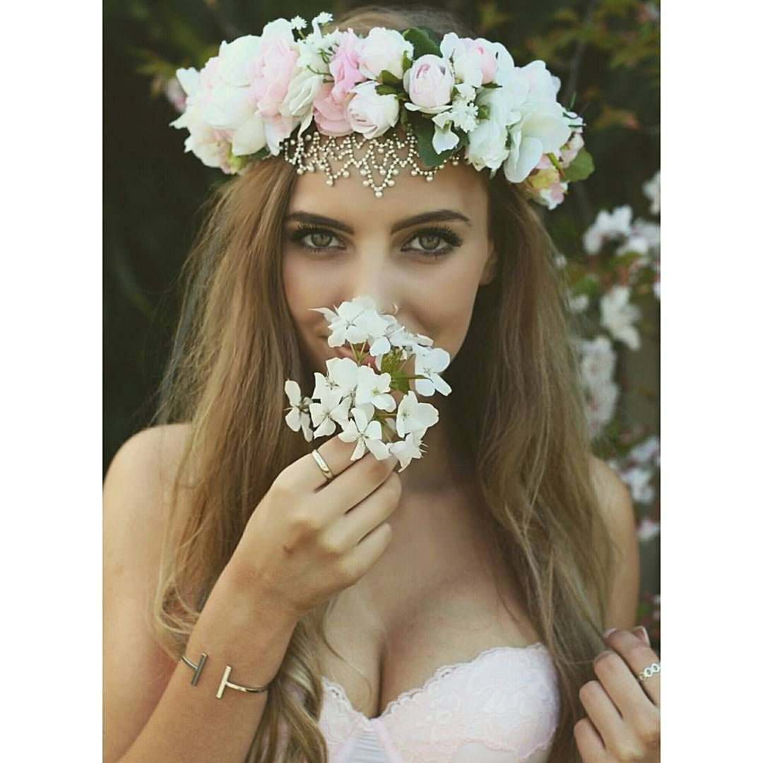 Some new crowns online tomorrow georgiajack looks like a stunning some new crowns online tomorrow georgiajack looks like a stunning flower fairy in this pastel cluster rose crown loveit boho elegant pastels izmirmasajfo