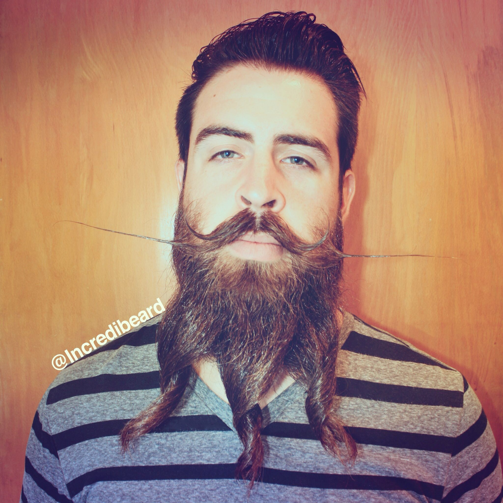 The Dali Tornado Beard Style Incredibeard Pinterest Beard - Mr incredibeard really coolest beard ever seen
