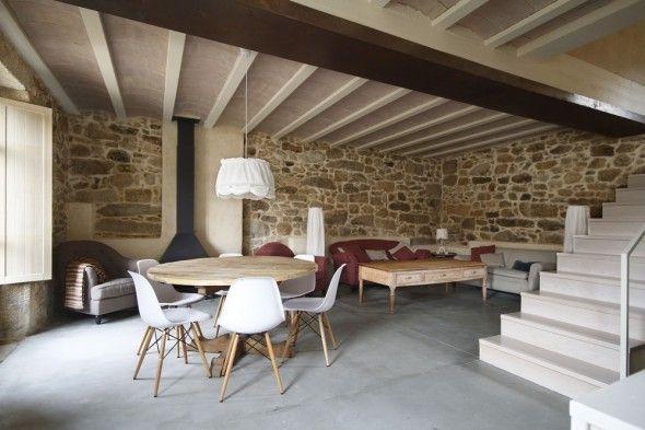 Mur de briques ou pierres apparentes | Decoration maison de ...