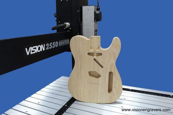 Making a Guitar on a CNC Router Part 1  | cnc router | Cnc