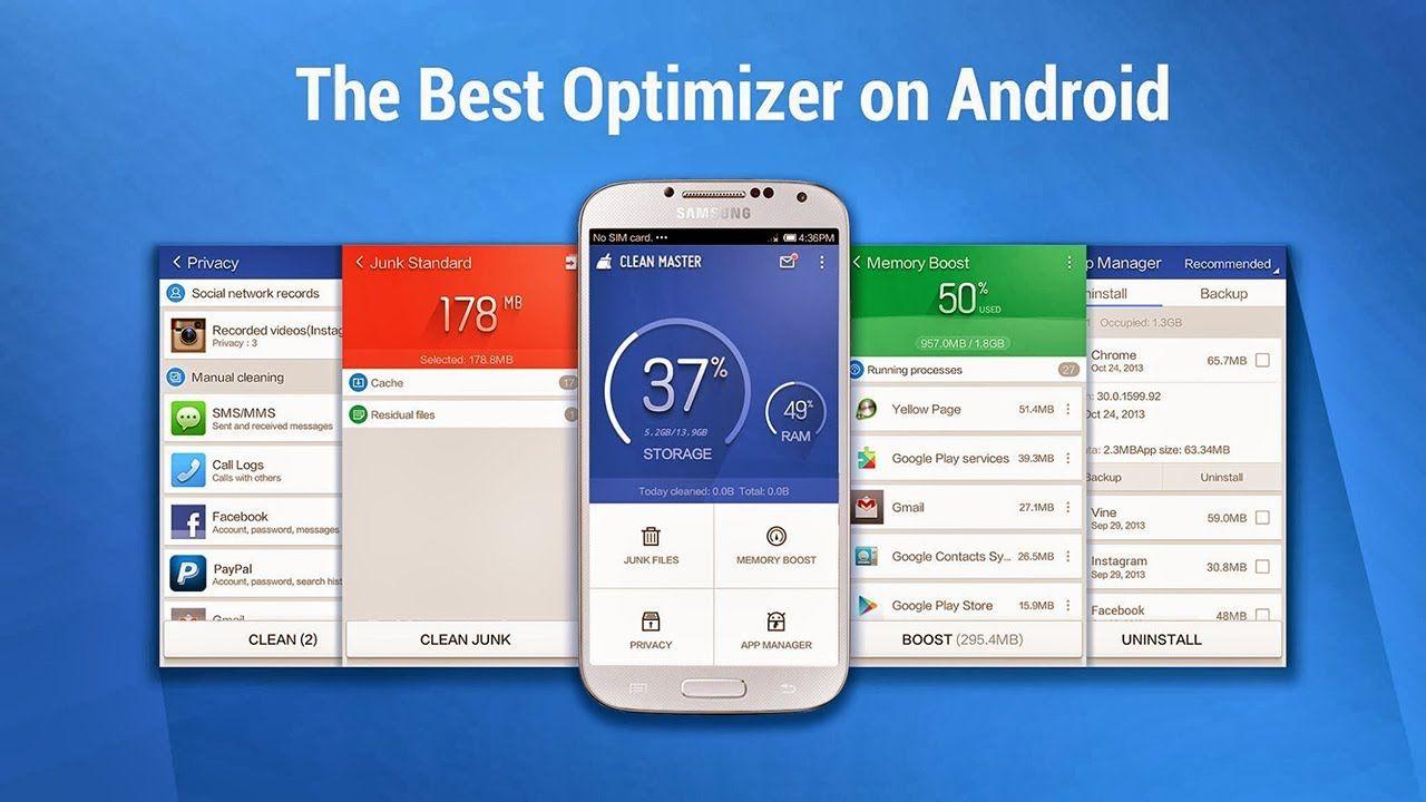 Скачать приложение для андроид clean Android clean