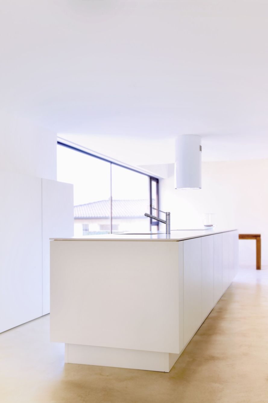 Cucina Total White #corian #laccatoseta #studiodesign_meda ...
