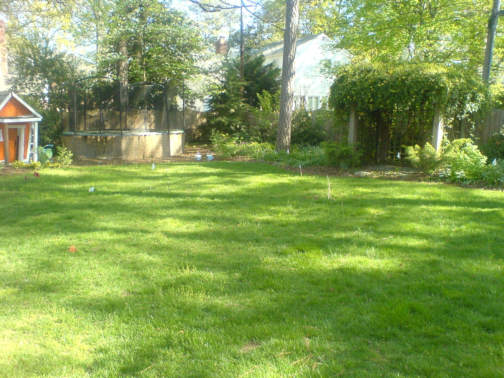 how to level a sloped backyard google search backyard project