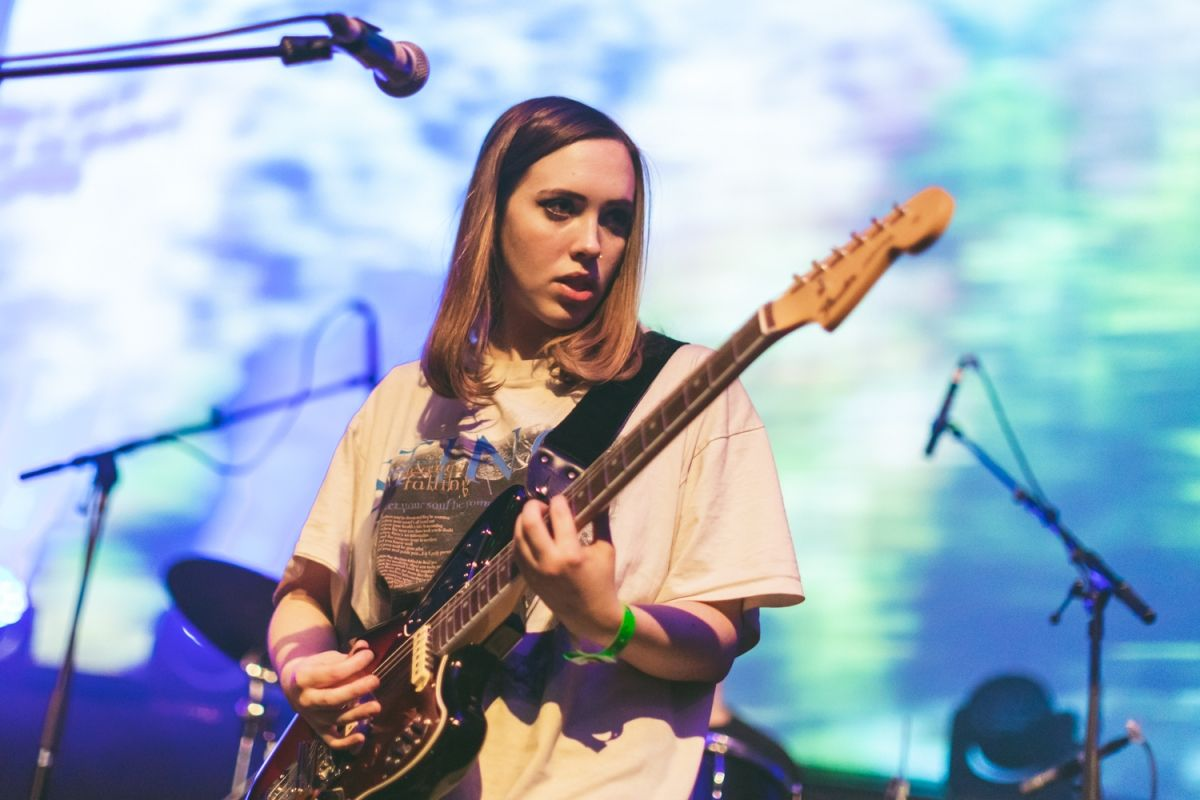Soccer Mommy To Finish Recording New Album This Week Soccer Mommies Guitar Girl