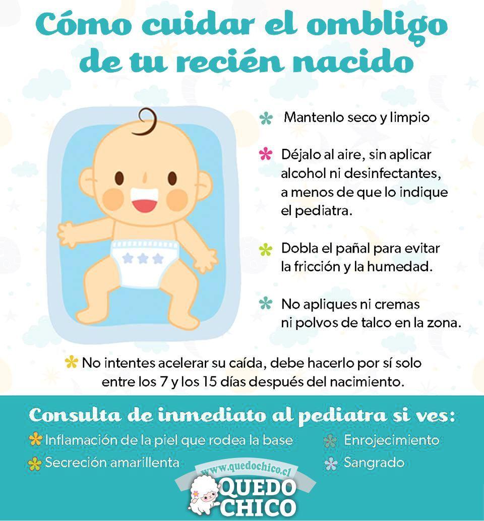 0f6e4e148 Cuidar el ombligo de tu recién nacido es sumamente importante ...