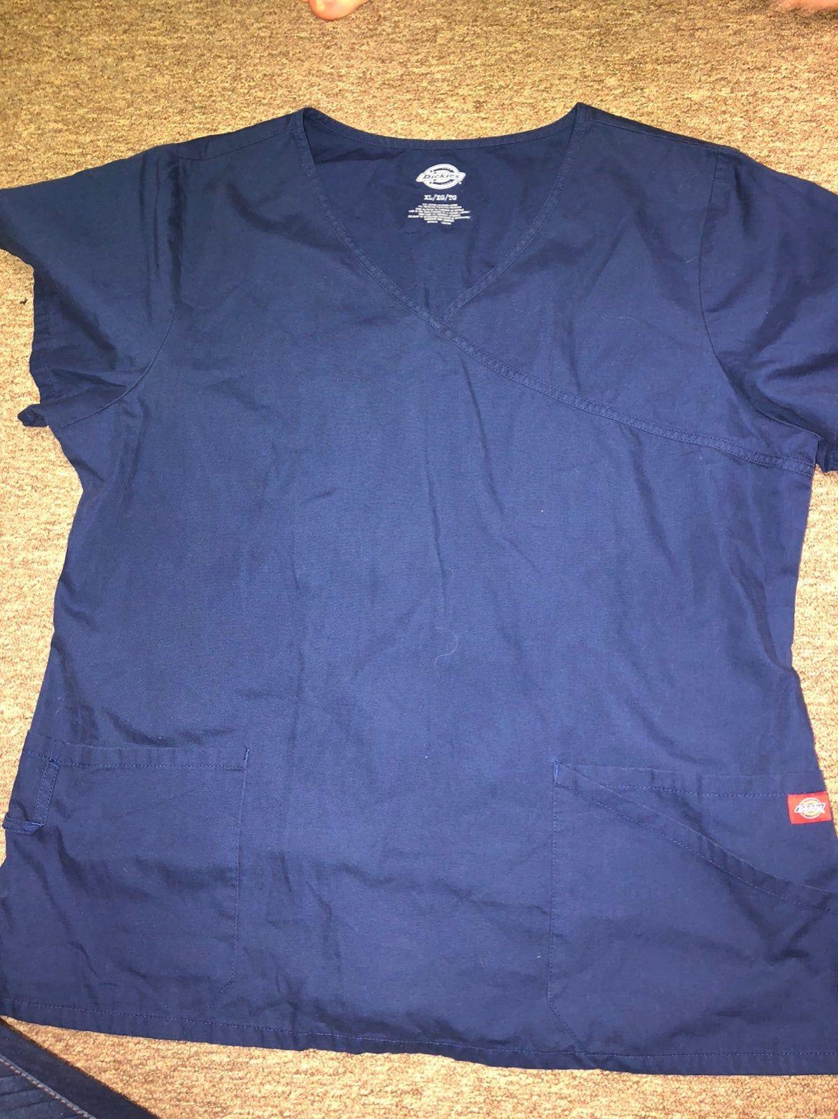 Dickies scrubs navyblue top
