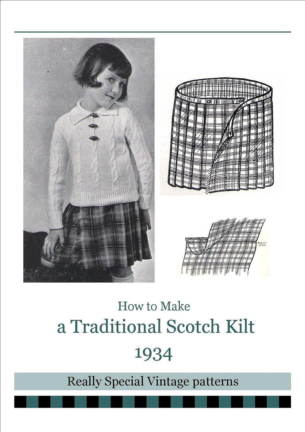 Kilt Sewing Pattern Custom Inspiration