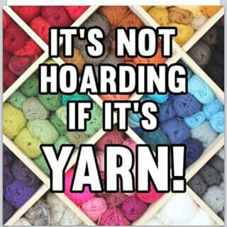 Just organized my yarn the other day, no it's not hoarding!