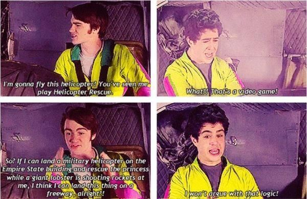 I Won T Argue With That Logic Drake And Josh Funny Shows
