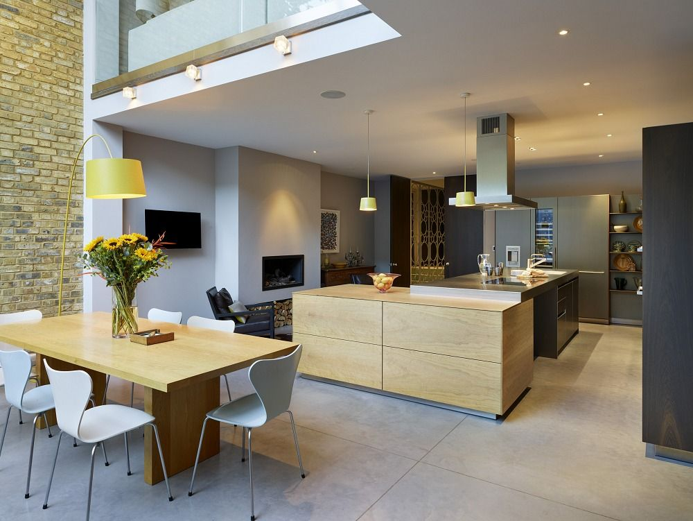 Kitchen Architecture Home Double Height Glazed Extension Kitchen Design Small Living Room Design Kitchen Decor Double height dining room design