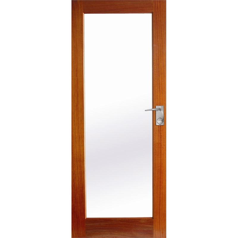 Hume Doors Timber 2040 X 820 X 40mm Joinery 1lite Entrance Door