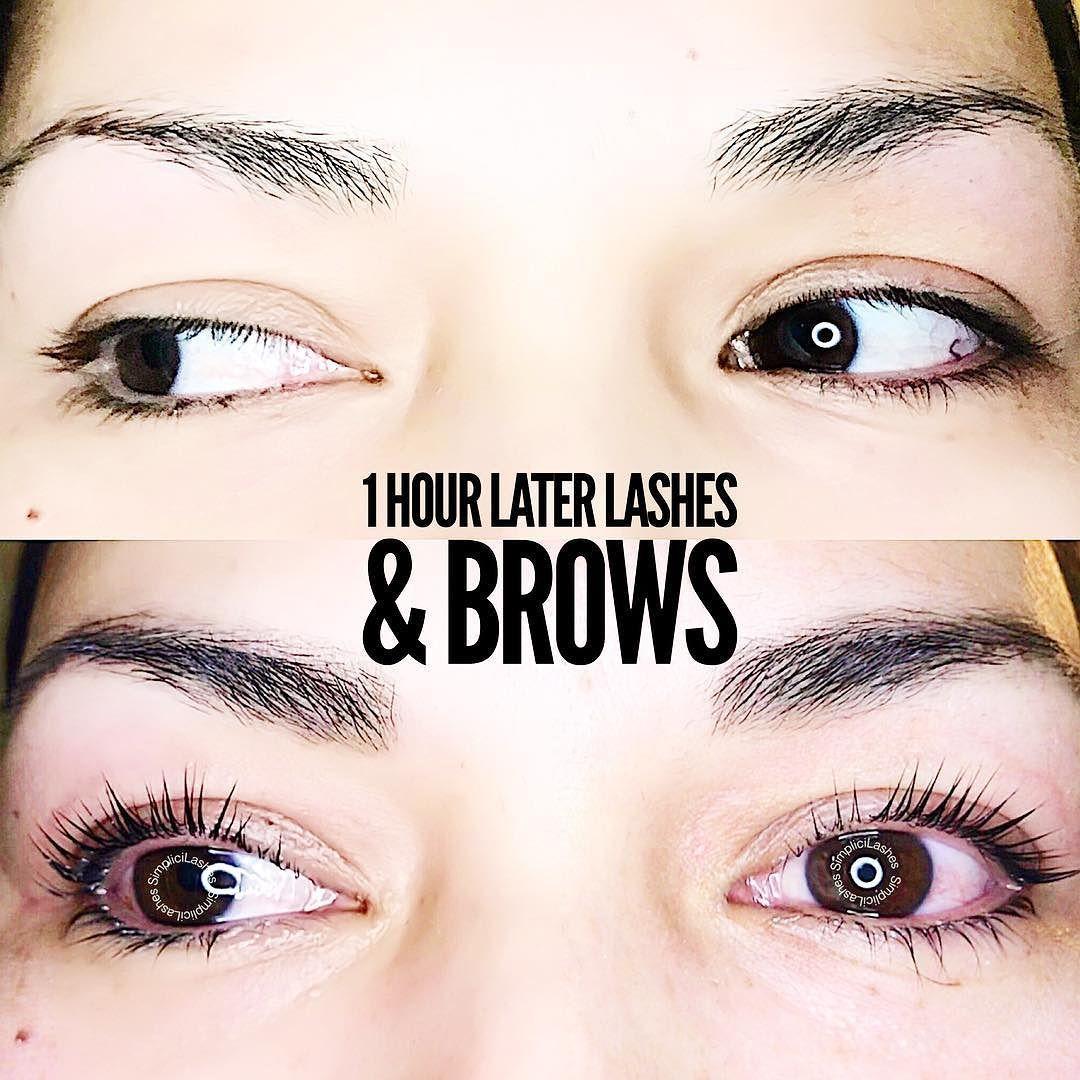 YUMILash Lift a natural brow tint . . . . #lashlift # ...
