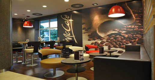 Mcdonalds Interior Design mcdonald's new restaurant image: a shift in branding strategy
