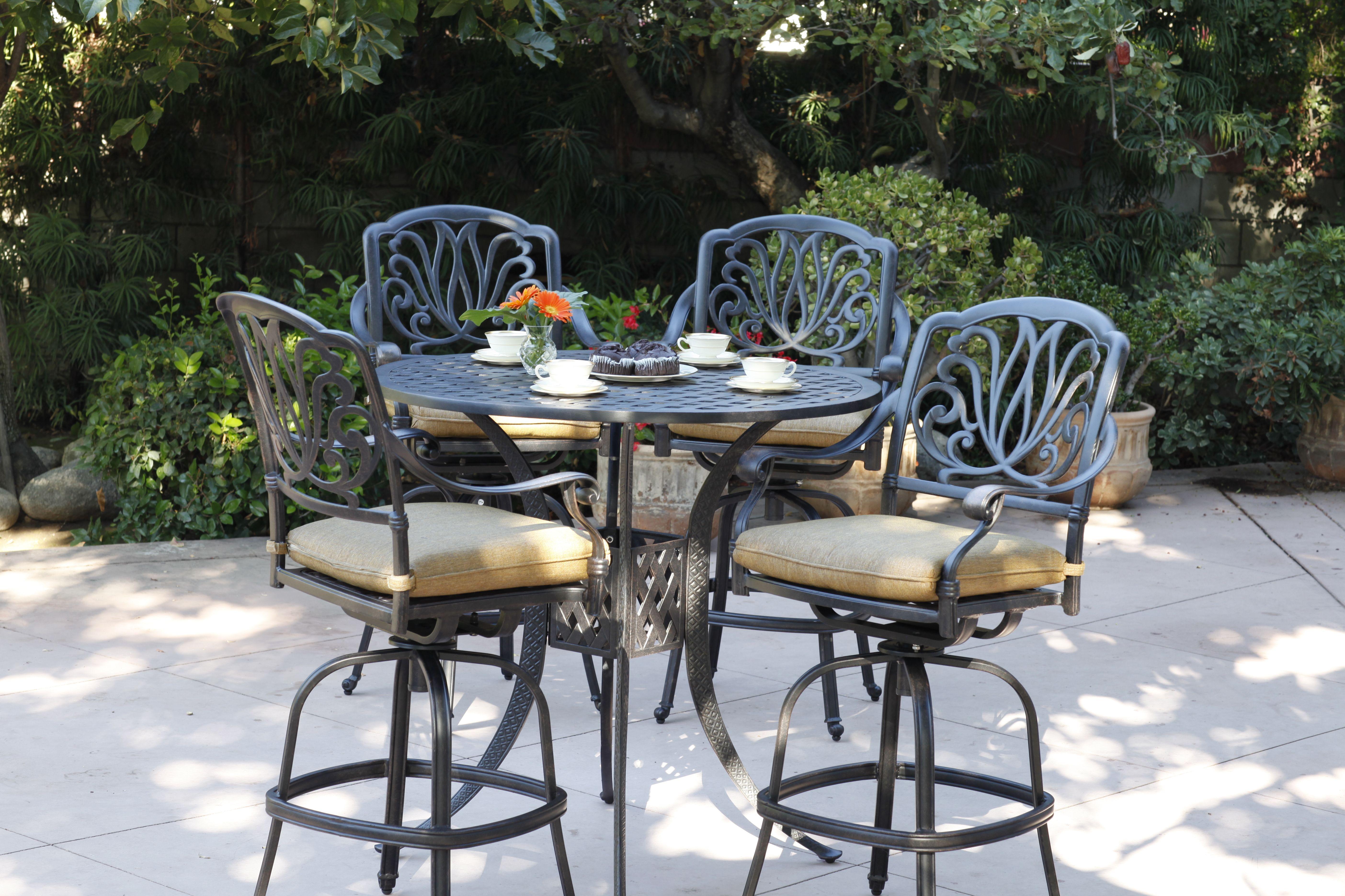 Darlee Elisabeth Bar Stools And Table