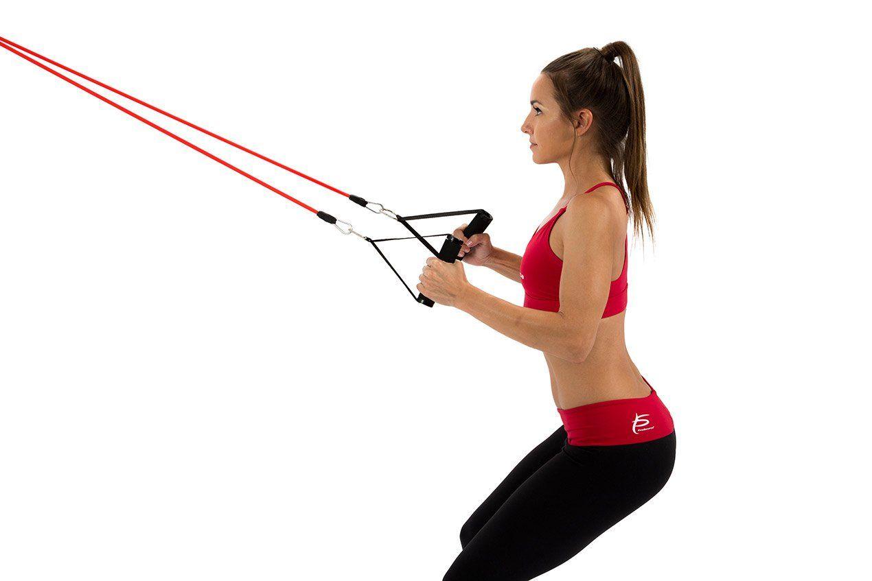 Упражнения с эспандером: фото и описание 7 упражнений   Glamour.ru   847x1270