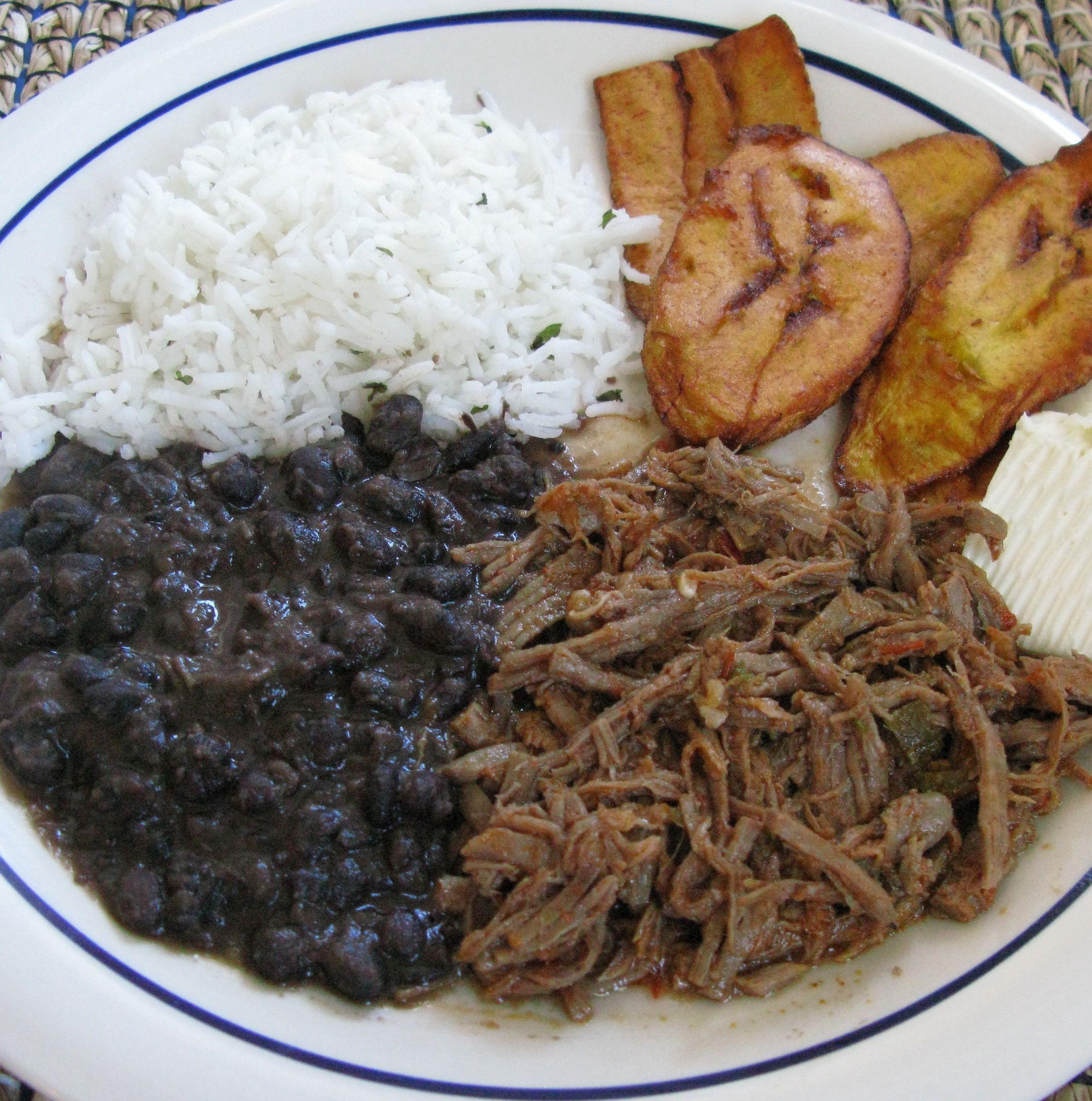 Pabellón Criollo: A Traditional Venezuelan Dish. It Is A
