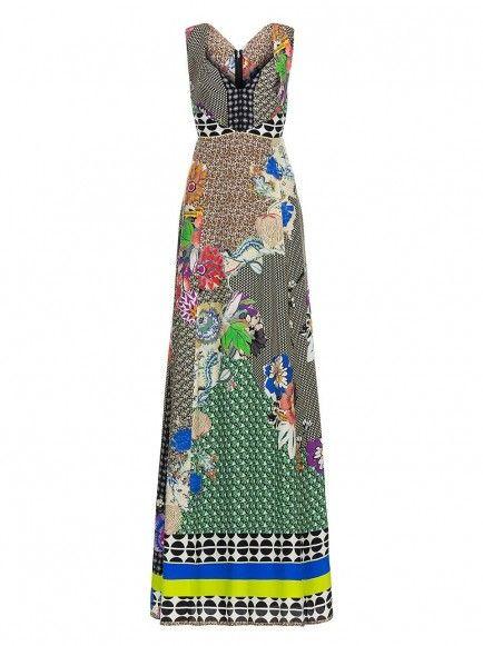 Etro - ETRO Floral Maxi Dress | ETRO Long Dresses SS 14