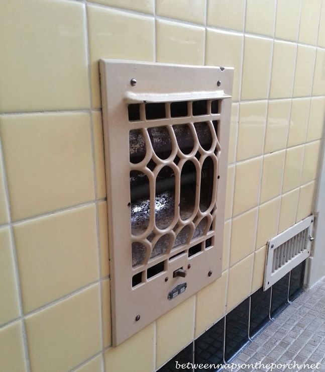 Vintage Electric Wall Heater, Totally Safe Of Couse!