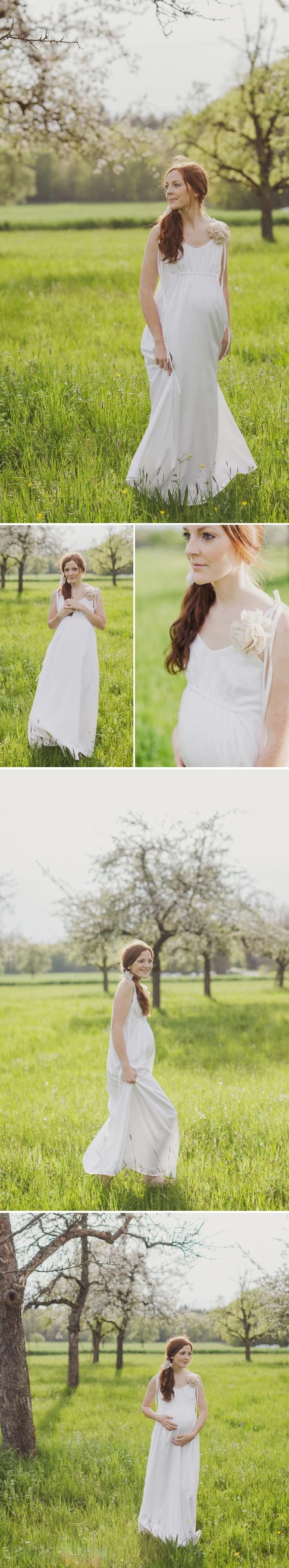 Brautkleider für Schwangere. Bei der Erstellung der Kollektion haben ...