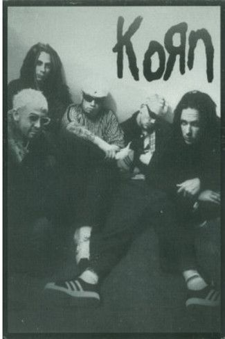 Korn Group B Music Postcard Print Poster Card