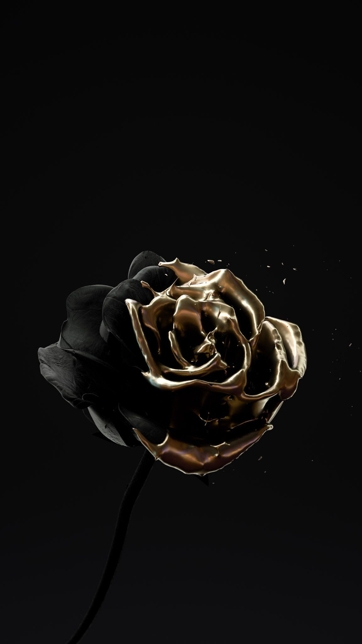 """Matthew Encina on Twitter: """"#RosesAreDead 🥀🖤💀 Volume 4. My ongoing design series exploring thoughts of life, love and death. #C4D #Xparticles #OctaneRender… https://t.co/2FBuLj6Z6J"""""""