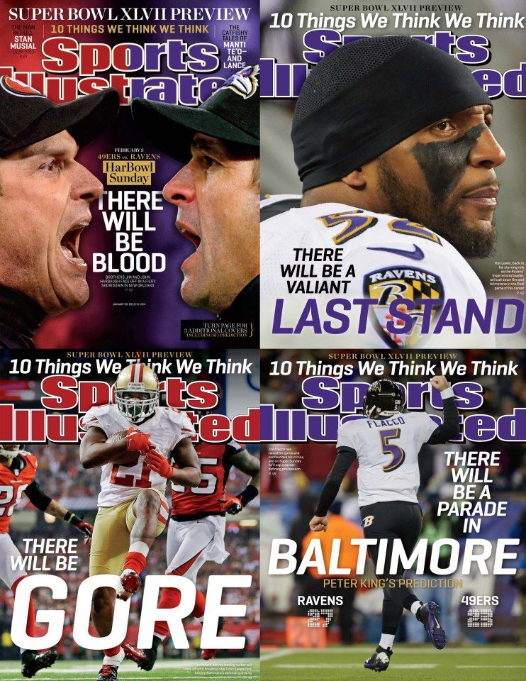 Preview to the Super Bowl. SportsIllustrated Sports