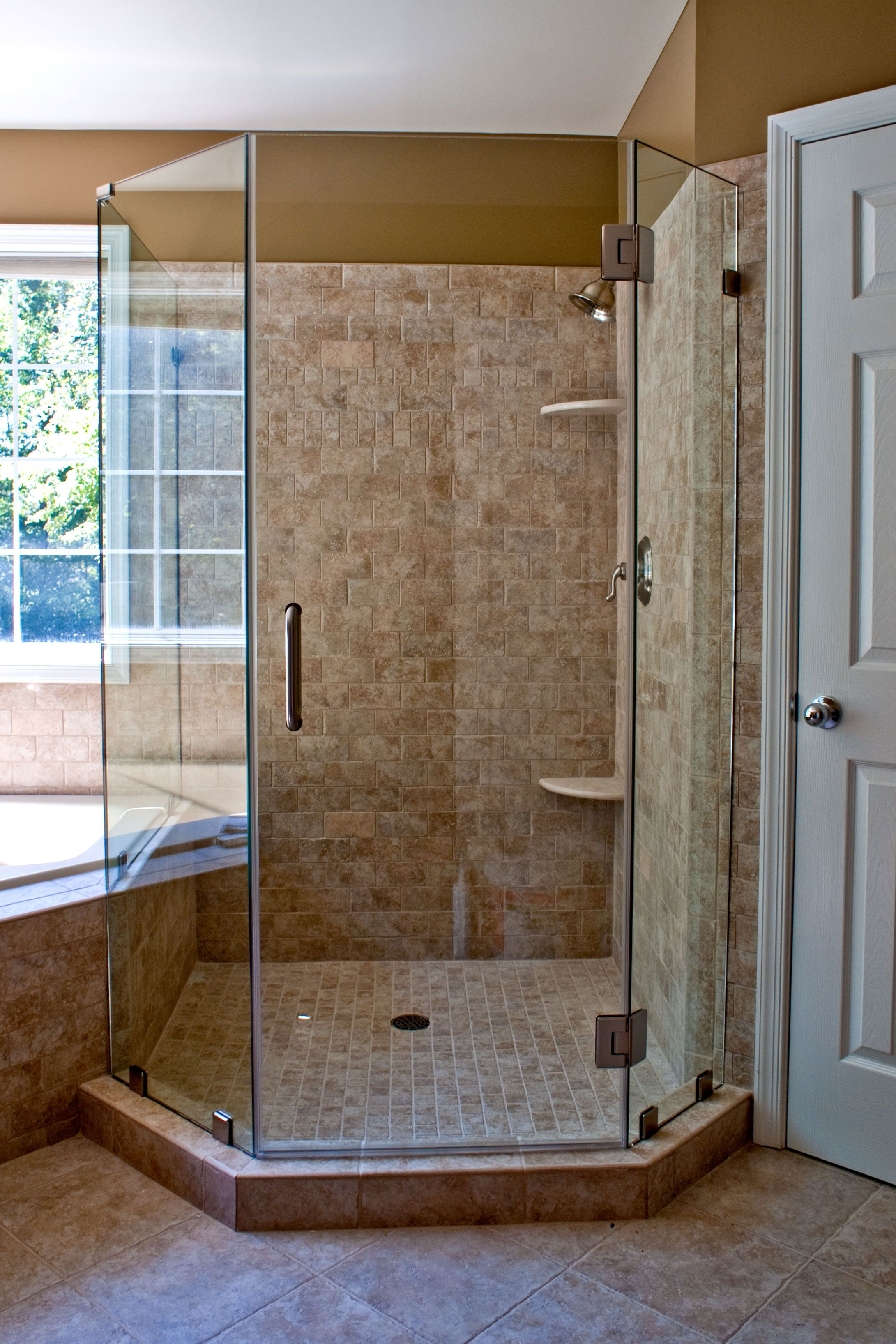 Double Shower Doors If You Have The Space Why Not We Ll