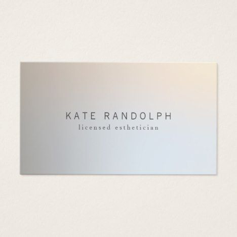 Modern minimalistic professional luminous silver business card modern minimalistic professional luminous silver business card businesscards zazzle reheart Gallery
