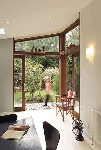 Disappearing Corner Sliding Doors House Styles Interior Design House Design