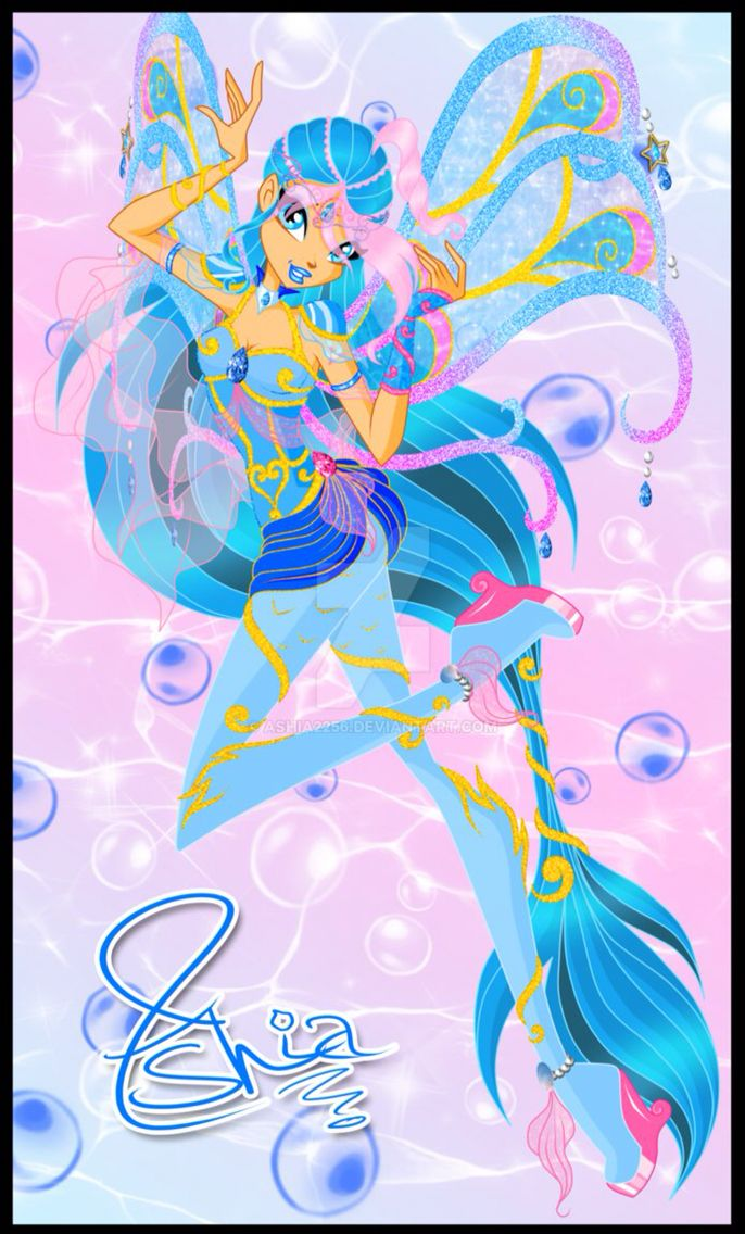 Ashia bloomix fairy of the ocean from winx club winx - Winx magic bloomix ...