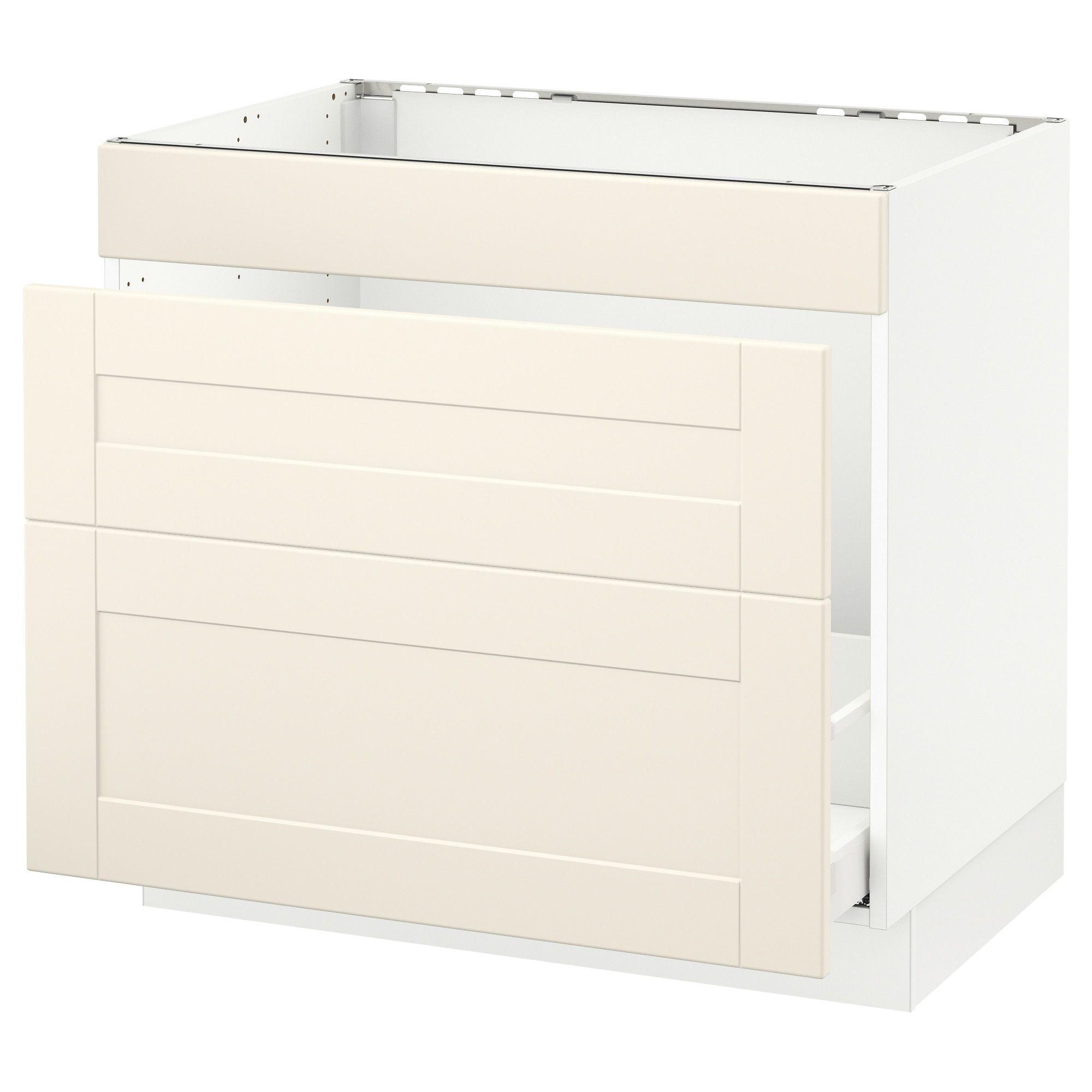 IKEA SEKTION white Base f/sink & waste sorting