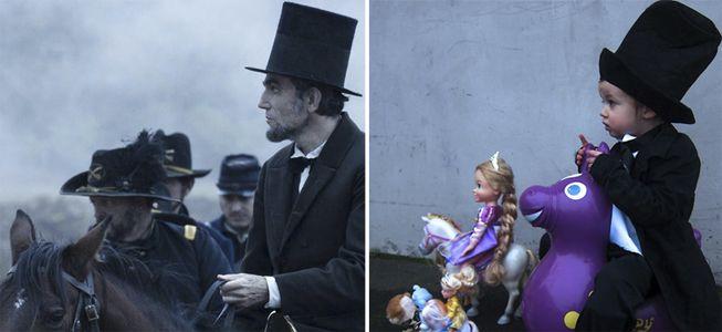 Remake de filmes do Oscar 2013 com bebês