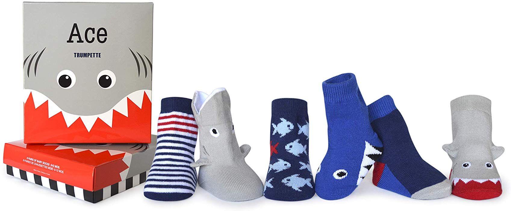 3 Pairs Trumpette unisex-baby Sock Set